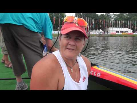 Christine Gauthier (CAN) Winner K1 Women 200m Paracanoe LTA