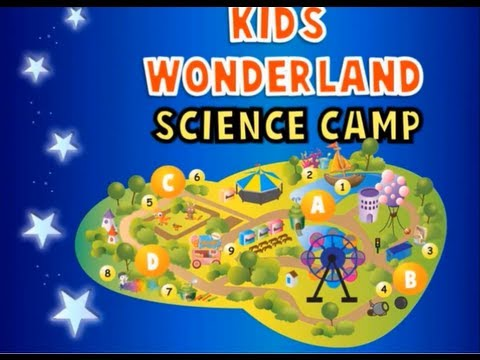 Kids Wonderland Science Camp Trailer