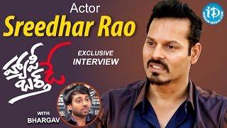 Actor / Model Sreedhar Rao Exclusive Interview
