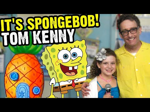 SPONGEBOB voice and ICE KING voice TOM KENNY Interview with PIPER REESE! Adventure Time! (PQP 097)