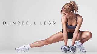 15 Minute DUMBBELL LEGS Workout |At Home