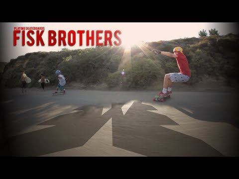 Playing Skateboards | Fisk Brothers