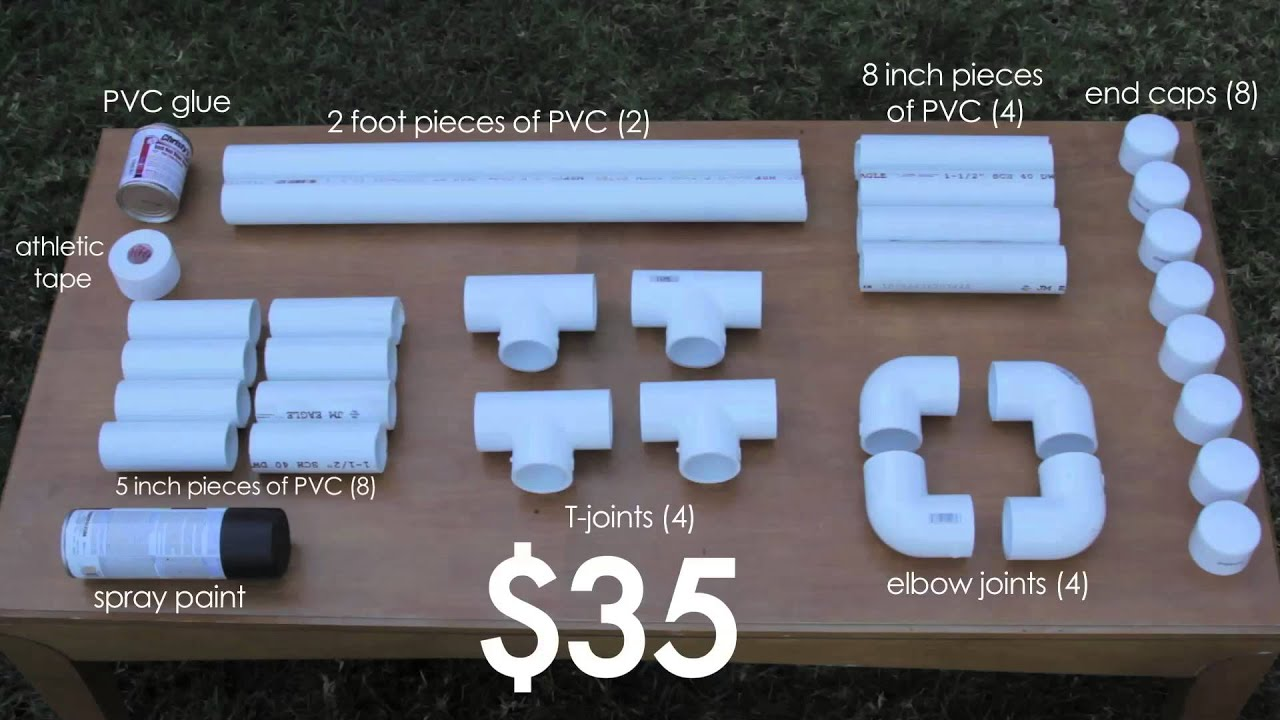Easy pvc projects how to build parallettes under 35 for Simple pvc projects