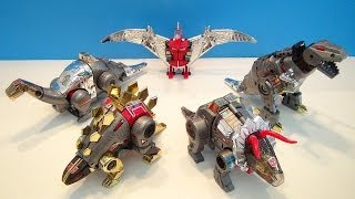 TRANSFORMERS G1 DINOBOTS COLLECTION VIDEO REVIEW WITH