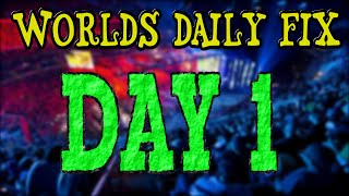 Worlds Day 1 Funny Moments - Daily Fix