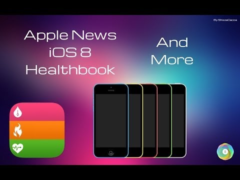 Apple News - iOS 8, iPhone 5C da 8GB, Healthbook