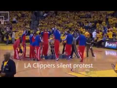 LA Clippers reaction to racist comments during NBA 2014 Playoffs