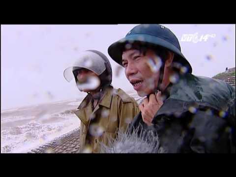 (VTC14)_Cập nhật diễn biến bão số 3 tại Nam Định: Gió giật cấp 9-10, sóng biển cao 3-5m