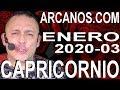 Video Horóscopo Semanal CAPRICORNIO  del 12 al 18 Enero 2020 (Semana 2020-03) (Lectura del Tarot)
