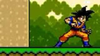 Goku Vs Super Mario Bros
