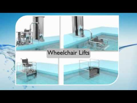 swimming pool fitness access hoists lifting seats wheelchair lifts