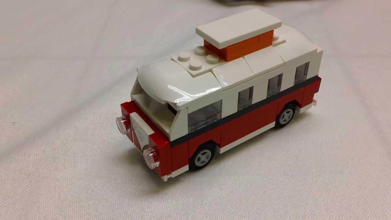 lego creator volkswagen bus polybag review set 40079. Black Bedroom Furniture Sets. Home Design Ideas