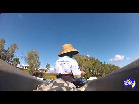 Townsville Kayak Fishing 4lb line, Barra, Ross River
