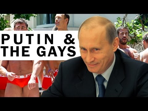 Putin Says Gays Are Pedos