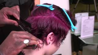 Funky Hairstyle For Short Hair Afro-Caribbean Hairstyle