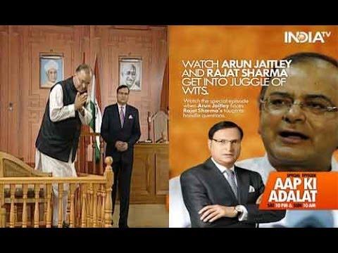 Aap Ki Adalat - Aap Ki Adalat -  Arun Jaitley, Full Episode