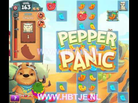 Pepper Panic Saga level 163