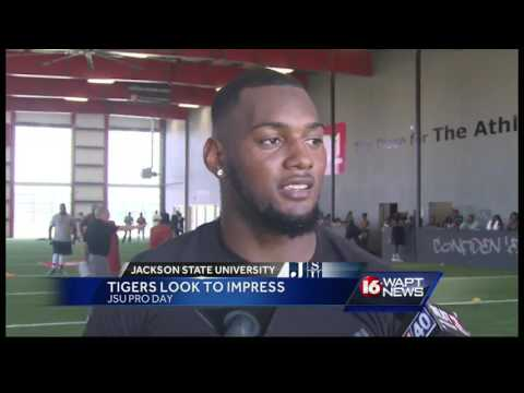 Jackson State holds its Pro Day