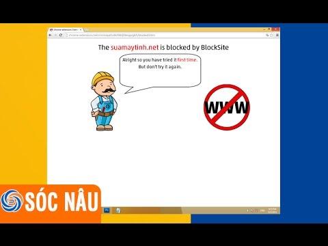 Cách chặn website bằng trình duyệt Google Chrome