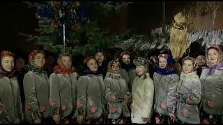 ХНУВС. «Щедрик» у виконанні працівників та курсантів