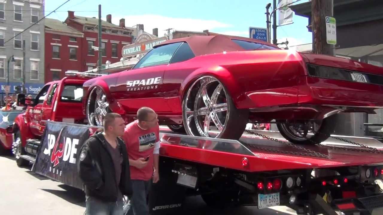 Spade Made cars, Cincinnati Reds Opening Day Parade 2012 ...