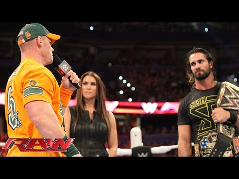 Seth Rollins gets an unwelcome Night of Champions surprise: Raw, Aug. 31, 2015