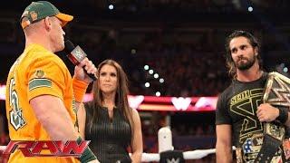 WWE Raw 31 de agosto de 2015: segmento final