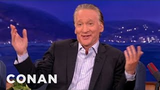 Conan: Bill Maher is over Donald Trump's Ridiculous Lawsuit