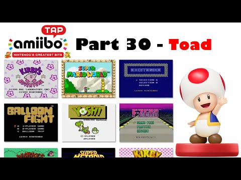 Let's Play amiibo Tap: Nintendo's Greatest Bits - Part 30 [Mario Toad]