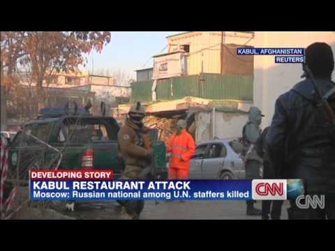 2 Americans, 11 other foreigners among 21 killed in Kabul attack by Taliban