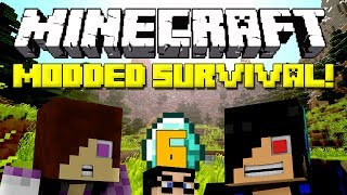 Minecraft: Modded Survival Let's Play - Episode 6: Unexpected Visitor