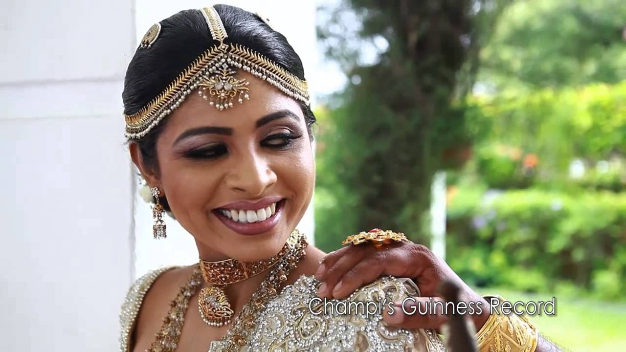 Champi Siriwardana Wedding