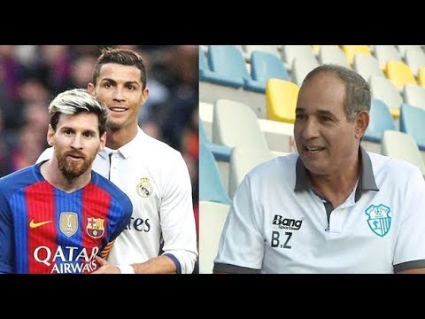 رأي الزاكي في ميسي ورونالدو وعلاقته برشلونة