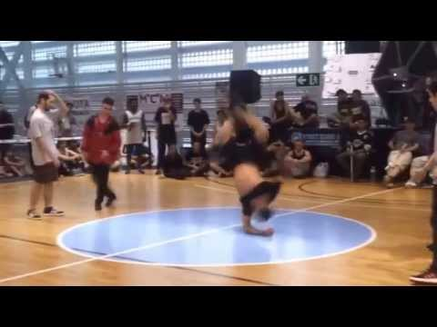 Bboy Boby Venezuela Floor Wars Spain 2014 Power Kill