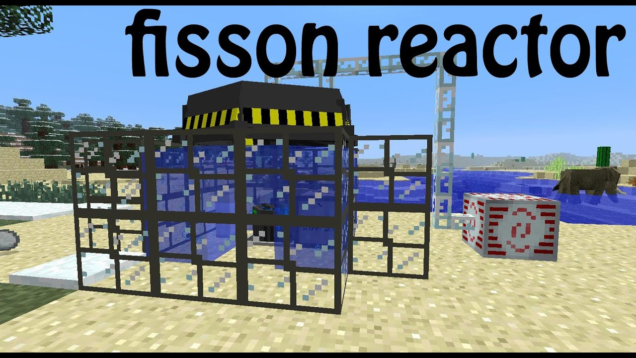 Minecraft Atomic science: fission reactor tutorial/guide - YouTube