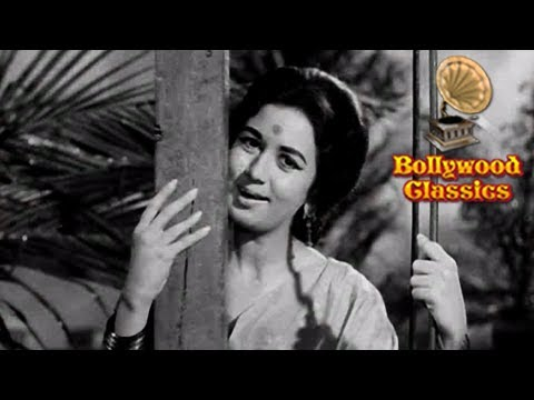 Kajre Badarwa Re - Lata Mangeshkar Classic Romantic Hindi Song - Pati Patni