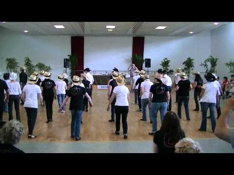 Kansas Line Dance : intercours novices avec Christine