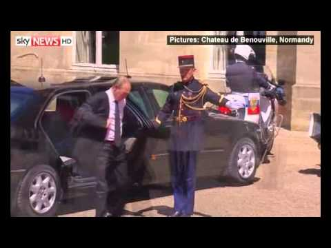 Ukraine:  Petro Poroshenko sworn in as new President