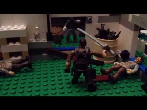 Call of duty mega bloks zombies stopmotion