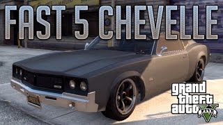 Fast & Furious Chevelle (Sabre Turbo) : GTA V Custom Car