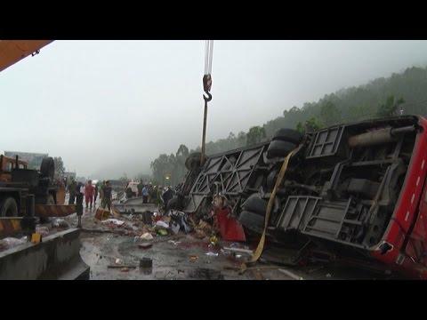 Tai nạn giao thông nghiêm trọng trên QL1A đoạn qua Hà Tĩnh