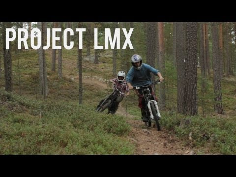 Electric bike freeriding movie || Project LMX