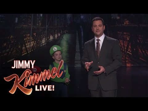 Hey Jimmy Kimmel, I Told My Kid I Ate All Their Halloween Candy Again -QxpYmdOGPJQ