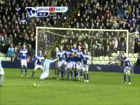 Aleksandar Kolarov Goal    Birmingham City - Manchester City 2-2