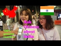 Ask Chinese about India What Chinese think of India and indians Street Interview 100 real