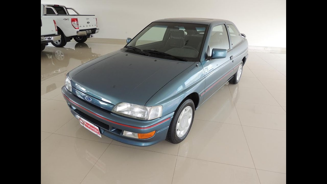 Escort XR3 1993 Azul Dallas Vendido 10.000 km