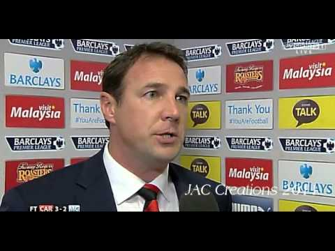 Malky Mackay Post Match Interview Cardiff City 3-2 Manchester City 25/8/13