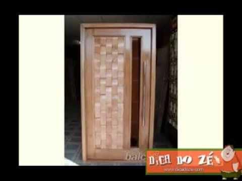 Portas de Madeira - Dica do Zé