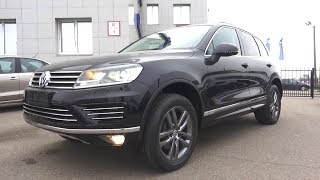 2017 Volkswagen Touareg 3.0 TDI R-line. Start Up, Engine, and In Depth Tour.. MegaRetr