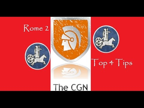Rome 2 Total War -  top 4 tips including income tips!